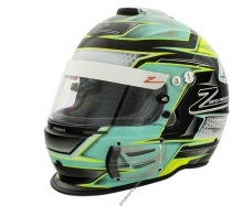 Шлем Zamp Racing CMR2017 Green/Silver