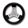 STEERING WHEEL COVERED WITH POLYURETHANE DIAMETER 250mm